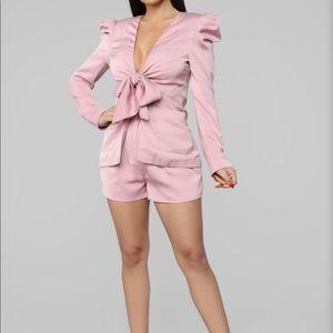 Fashion Nova blazer set